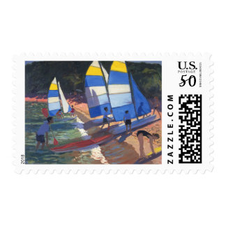Sailboats South of France 1995 Postage