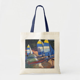 Sailboats South of France 1995 Tote Bag