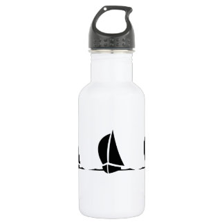 Sailboats Stainless Steel Water Bottle