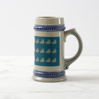 Sailboats Stein Mugs