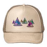 Sailboats Trucker Hat
