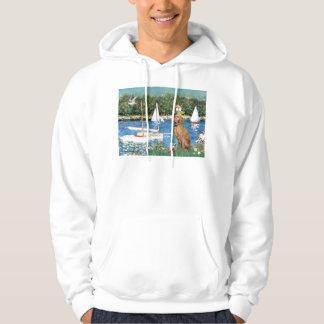 Sailboats - Vizsla 2 Hoodie
