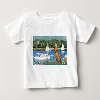 Sailboats - Vizsla 2 T-shirt