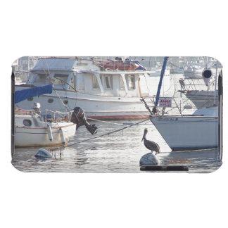 Sailbotas Pelican Birds Wildlife Boat Sailing Sea Barely There iPod Case