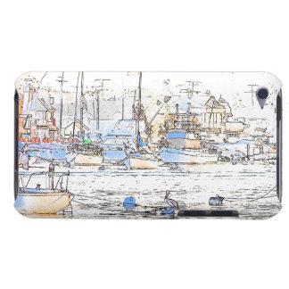 Sailbotas Pelican Birds Wildlife Boat Sailing Sea iPod Touch Case
