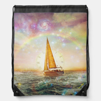Saile el mar de la mochila del lazo del tiempo