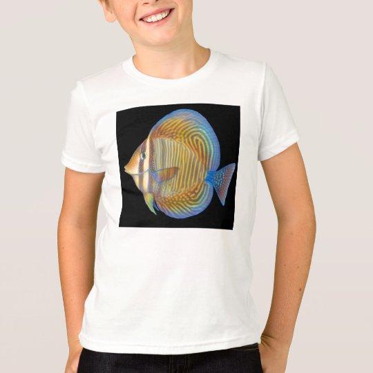 Sailfin Tang Kids Ringer T-Shirt