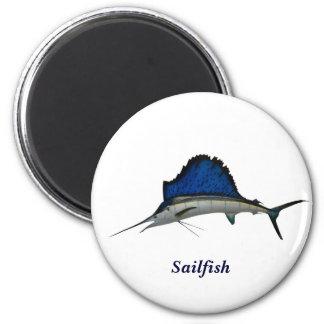 Sailfish 2 Inch Round Magnet