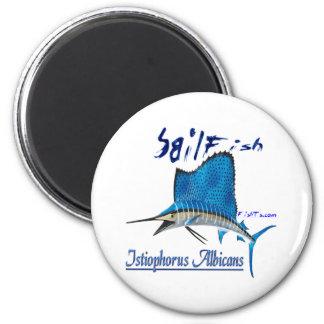 SailFish by FishTs.com Refrigerator Magnet