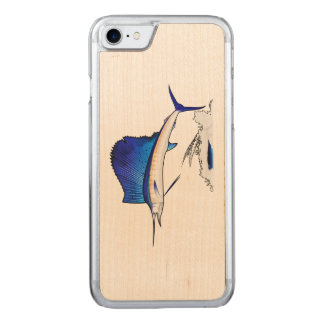Sailfish Carved iPhone 8/7 Case