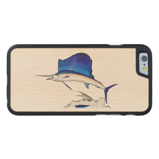 Sailfish Carved Maple iPhone 6 Case