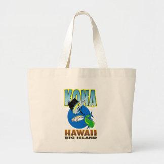 Sailfish dorado dolphin fish and bluefin tuna canvas bag