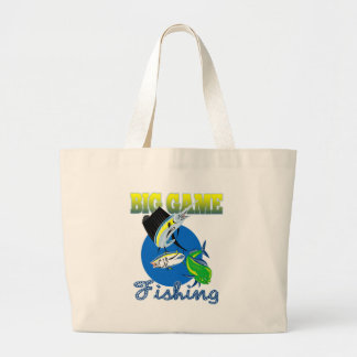 Sailfish dorado dolphin fish and bluefin tuna tote bags