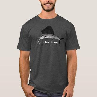 Sailfish Fishing art T-Shirt