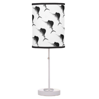 Sailfish Fishing art Table Lamp