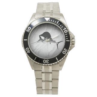 Sailfish Fishing art Wristwatch