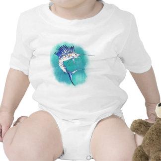 Sailfish in Watercolor Tee Shirt