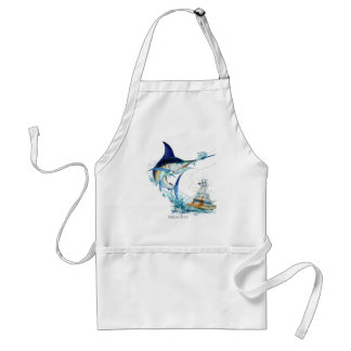 Sailfish Takes the Bait Adult Apron