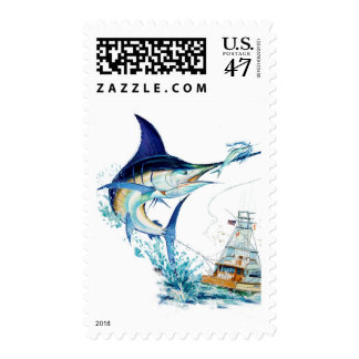 Sailfish Takes the Bait Stamp
