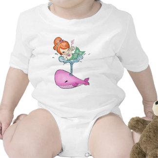 Sailin con una camiseta de la ballena