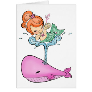 Sailin' With A Whale Card