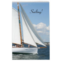Sailing!  12 month Calendar