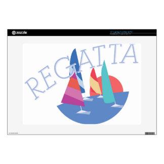 Sailing Regatta Laptop Decal