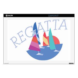 Sailing Regatta Laptop Decals