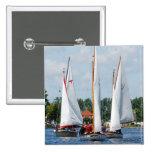 Sailing 2 Inch Square Button