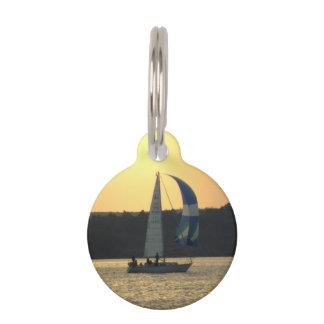 sailing-51 placa para mascotas