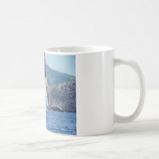 Sailing Along The Coast Of Sardinia Coffee Mug