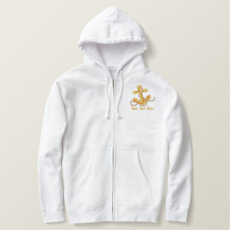 Sailing Anchor Classic Embroidered Hoodie