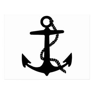 Sailing Anchor Sea Explorer Pirate Ship Postcard