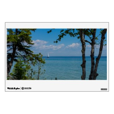 Sailing At Mackinac Wall Sticker