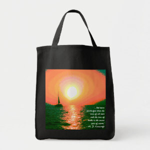 Sailing at Sunset bag