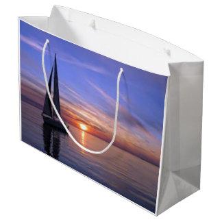 Sailing at Sunset Large Gift Bag