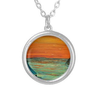 Sailing at sunset jewelry