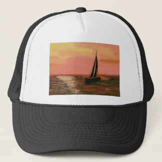 Sailing at Sunset Trucker Hat