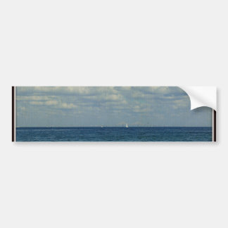 Sailing at the Skyway Bumper Sticker