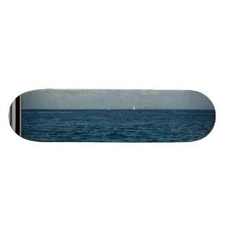 Sailing at the Skyway Custom Skateboard