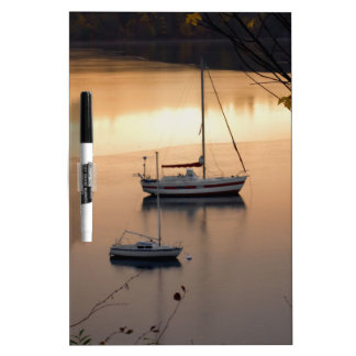 Sailing at Twilight Dry-Erase Whiteboards