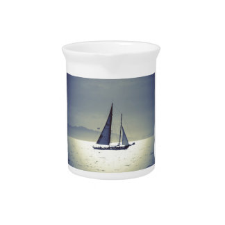 Sailing Away Beverage Pitcher
