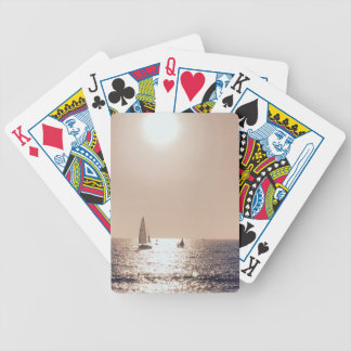 Sailing Away Bicycle Playing Cards