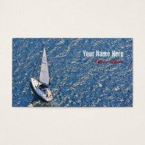 Sailing Away Business Card