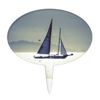 Sailing Away Cake Topper