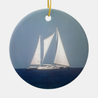 SAILING AWAY CHRISTMAS ORNAMENT