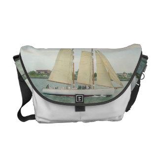 Sailing Away Messenger Bag