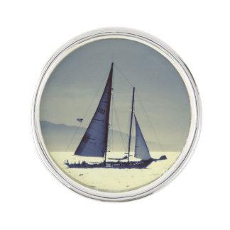 Sailing Away Pin