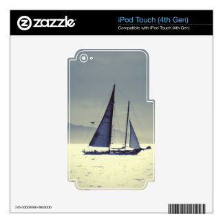 Sailing Away Skins For iPod Touch 4G