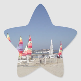 Sailing Away Star Sticker